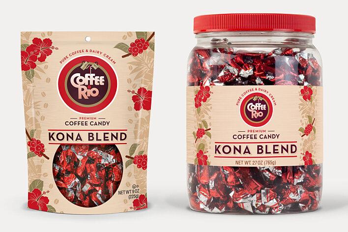Coffee Rio - Kona Blend Packaging
