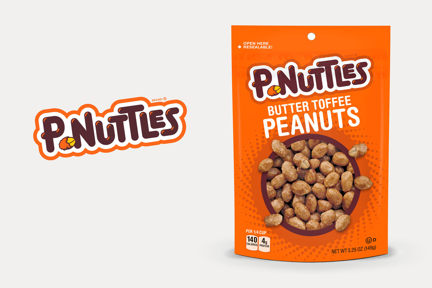 P-Nuttles Logo + Packaging Update