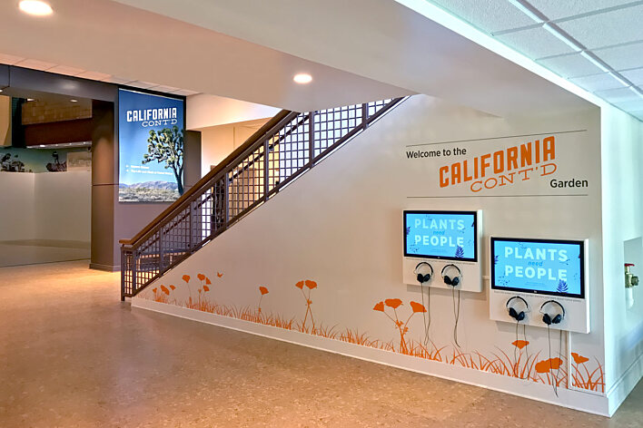 Autry Museum - California Continued interactive media wall