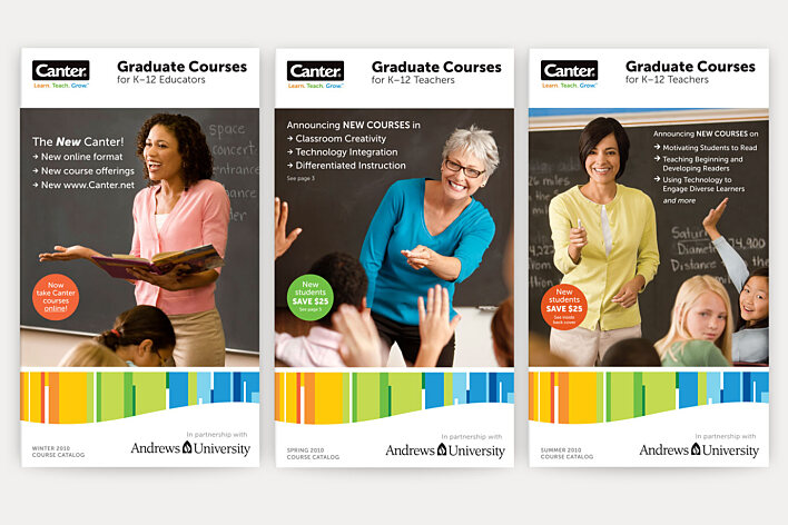 Canter Course Catalogs covers