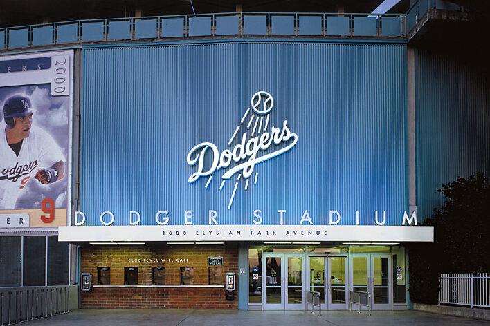 Dodger Stadium Lot 5 Entrance