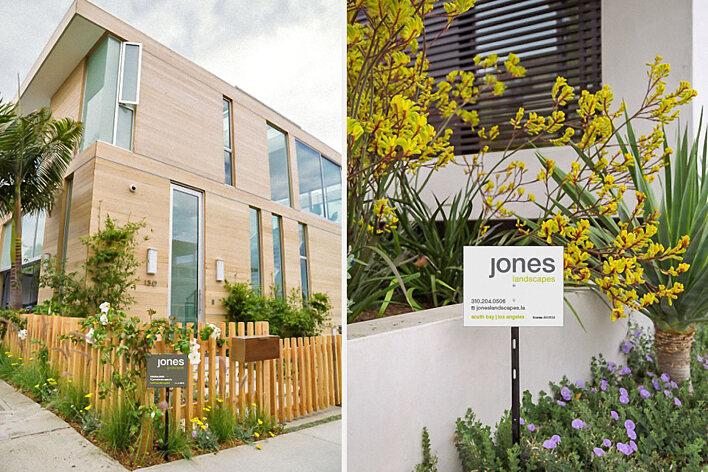 Jones Landscapes property signage