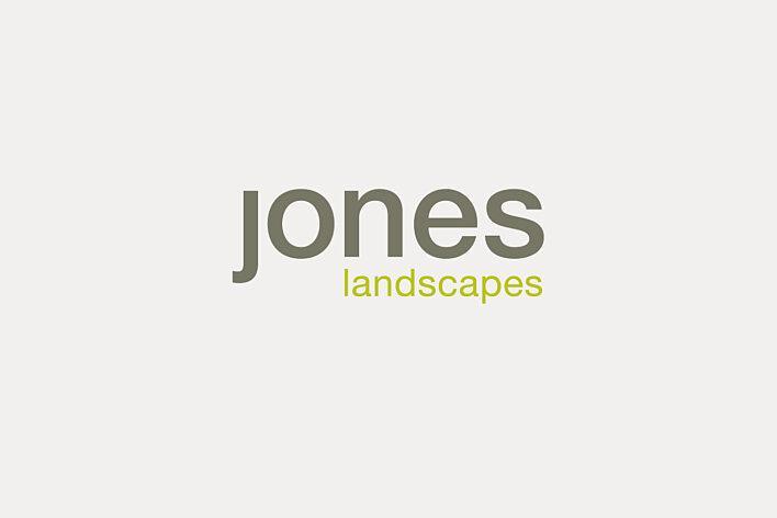 Jones Landscapes Identity