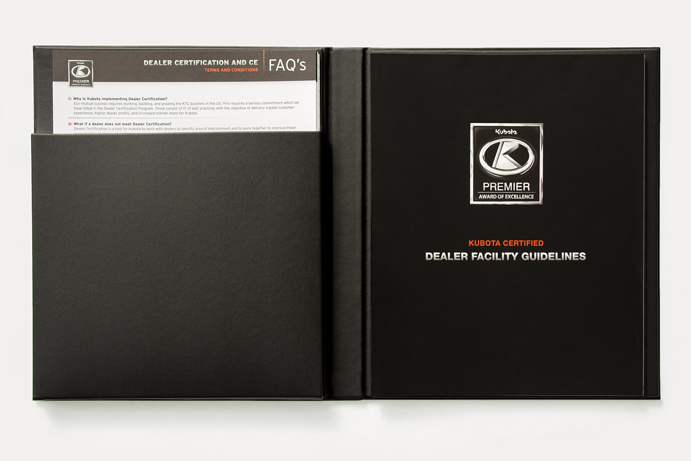 Kubota Dealer Facilities Guide - Executive Binder