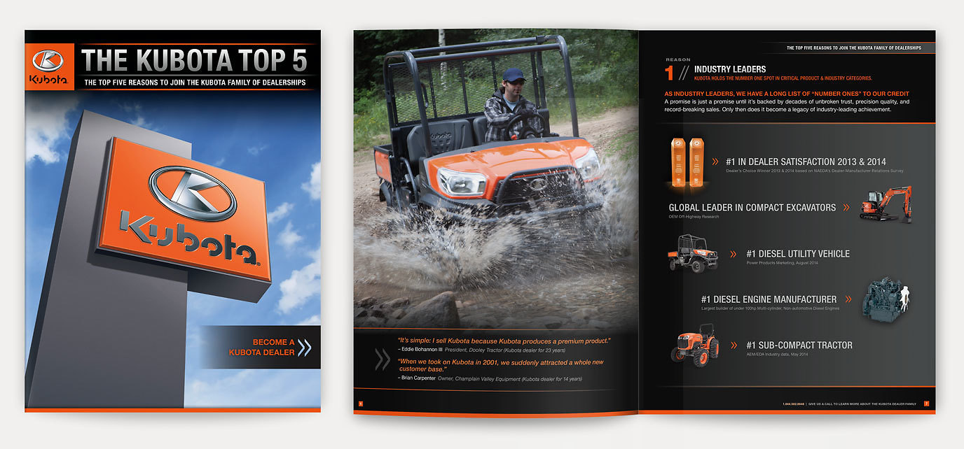 Kubota Dealer Brochure