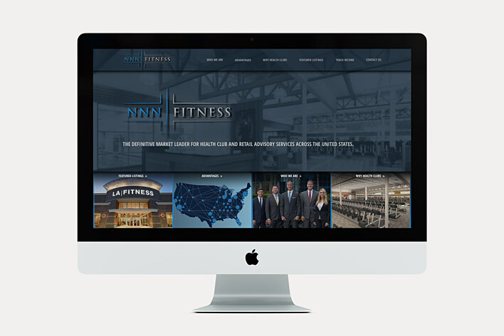 Commercial Real Estate Website - NNN Fitness