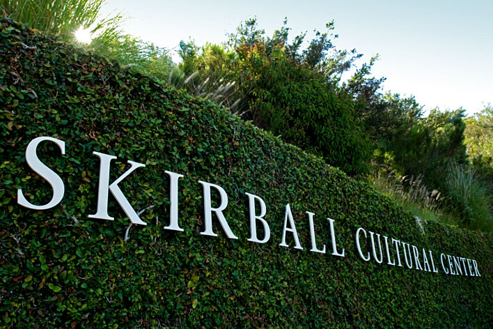 Skirball Cultural Center - Entrance Signage