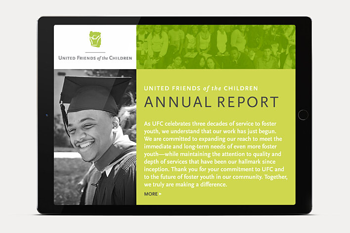 United Friends of the Children online annual report