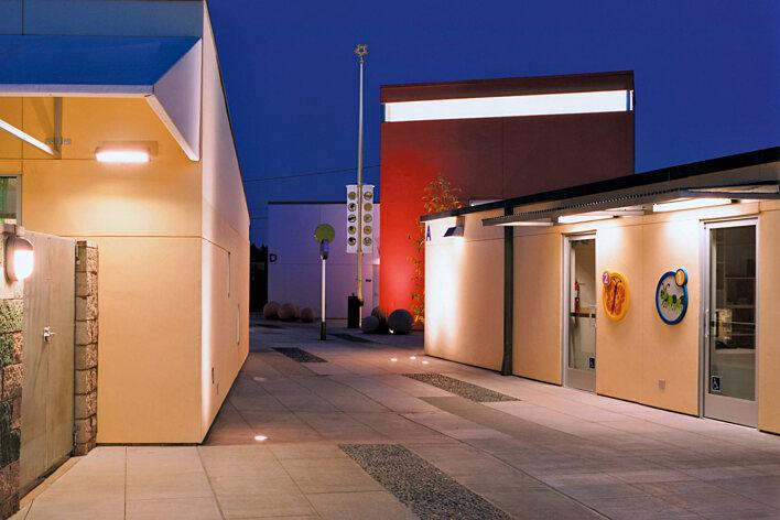 Westside Children's Center Courtyard